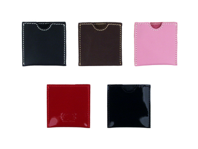 French Envelope - Red Patent Leather