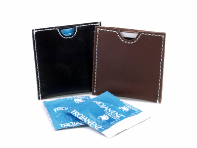 French Envelope - Brown Leather