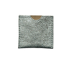 French Envelope -Silver Leather