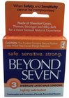 Beyond Seven Condoms 3pk