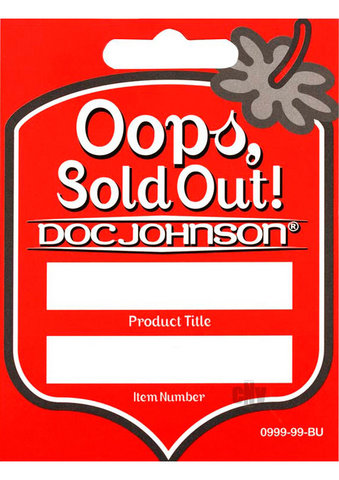 Doc Johnson Reorder Tags