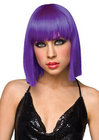 Cleo Wig Purple