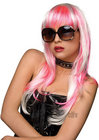Courtney Wig White W/ Pink