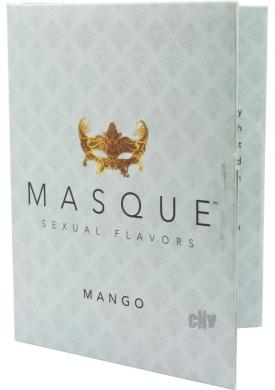 Masque Sexual Flavors Mango 3/pk