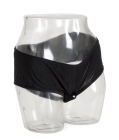 Boy Shorts Vibr Panty - Blk Lg/xlg