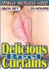 5pk 25hr Delicious Beef Curtains Sex Toy Product
