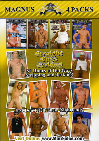 4pk Straight Guys Jerking Vol 1-4
