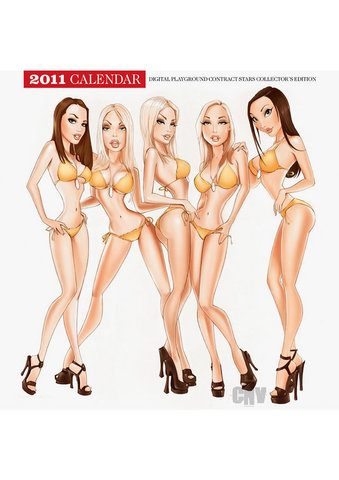 Digital Playground 2011 Calendar