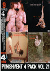 Punishment 4 Pack 21 {4 Disc Set}
