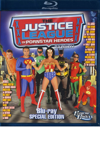 BlueRay Justice League Of Pornstar Heroes