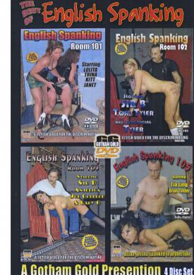 The Best Of English Spanking {4 Disc Sex Toy Product