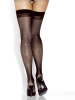 Fantasy Lingerie- Sheer Thigh High w/ Rhinestone Accents 