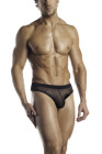 Excite(Fantasy Lingerie)- Mesh Thong w/ Color Contrast
