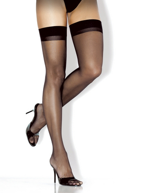 Fantasy Lingerie- Classic Sheer Thigh High w/ Back Seam