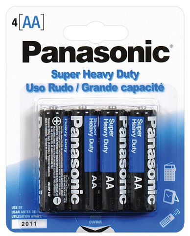 Panasonic Battery AA - 4 pack