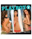 2013 playboy no swimsuit required wall calendar