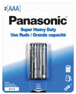 Panasonic battery aaa - 2 pack