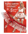 Hospital honey nurse garter w/hypodermic