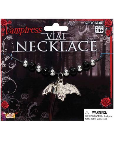 Vampiress vial necklace