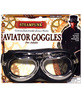 Steampunk aviator goggles