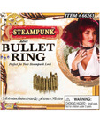 Steampunk bullet ring