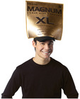 Trojan magnum condom wrapper hat costume