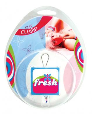 Fresh beaded clit luver - pink/blue