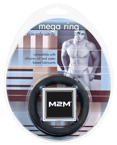 M2m mega nitrile c-ring - large black