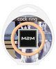 2m nitrile cock ring - 2.00in nude
