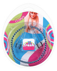 Fres nipple clamps w/chain - blue