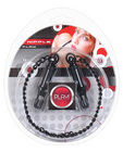Play! nipple play clamps w/chain - black