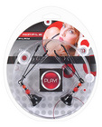 Play! nipple play clamps w/beads and bell - black
