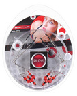Play! nipple play clamps w/ red beads - chrome