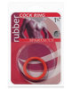 Rubber Cock Ring - Small Red