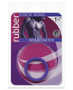 Rubber Cock Ring - Small Purple