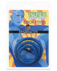 Nitrile cock ring set - blue pack of 3