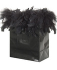 Chandelle gift bag - black