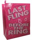 Last fling gift bag