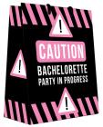 Caution bachelorette party in progess gift bag Sex Toy Product