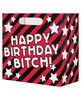 Happy birthday bitch beer bag - fits a 6 pack