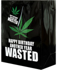 Happy birthday another year wasted gift bag