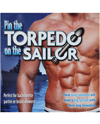 Pin the torpedo on the sailor Sex Toy Product
