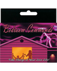 Bedroom commands card game Sex Toy Product