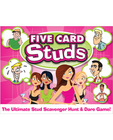 Five card studs game