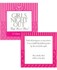 Girls night out party vows and dares game - 72 dare cards