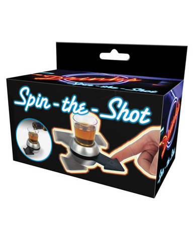 Drinks spin the shot game