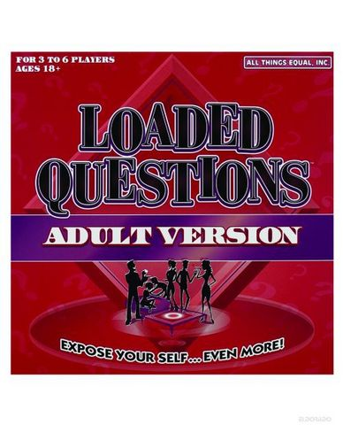 Loaded questions adult version