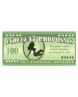 Indecent proposals game