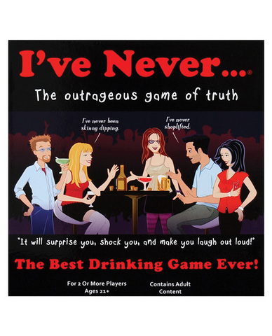 I&#039;ve never...? drinking game