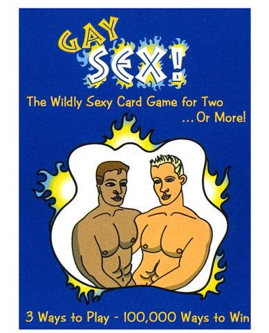 Gay sex card game